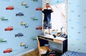 Giấy dán tường cao cấp cho bé trai