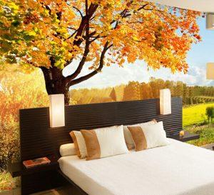 Tranh dán tường phòng ngủ đẹp